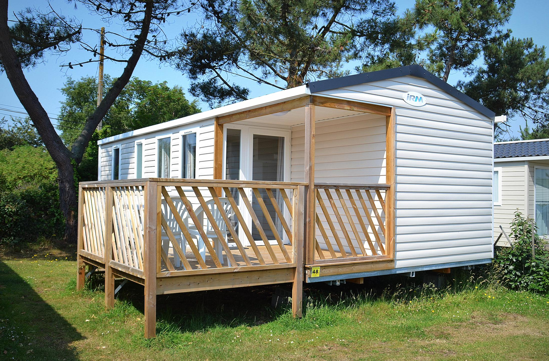 location mobil-home camping fermanville cotentin normandie